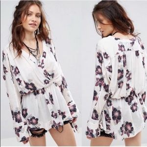 Free People | Tuscan Dreams Floral Tunic Top